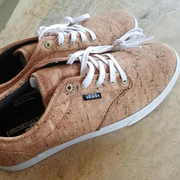 0509071b66 Vans cork shoes wms 9
